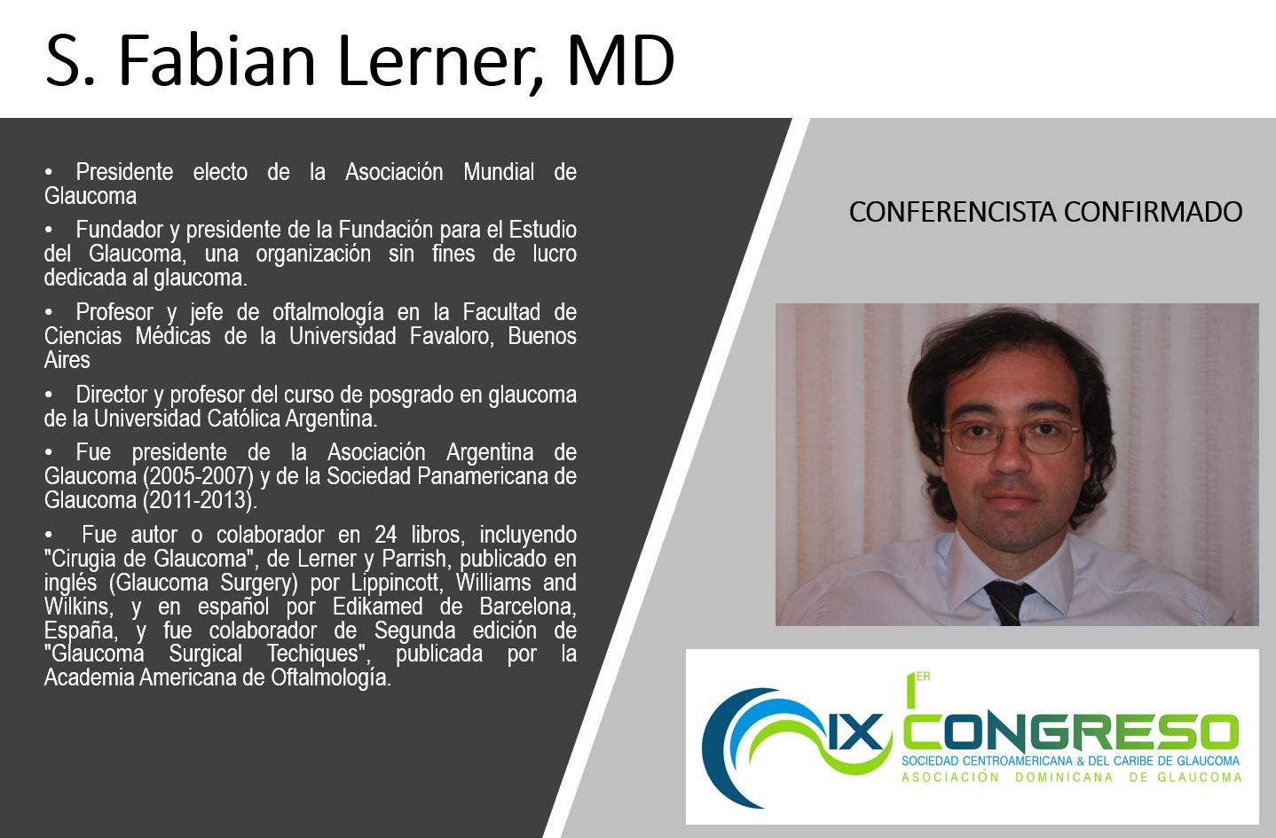 Dr. Fabian Lerner