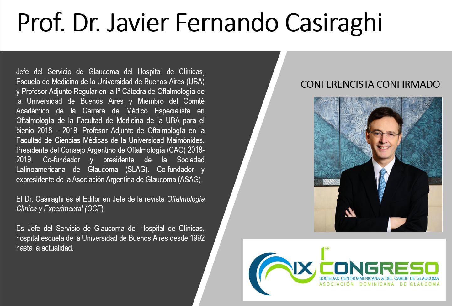 Dr. Javier Fernando Casiraghi