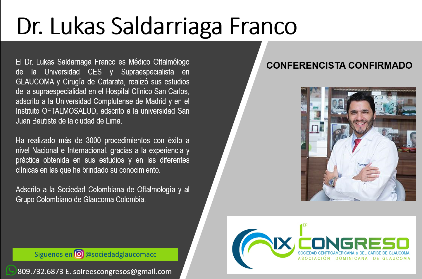 Dr. Lukas Saldarriaga